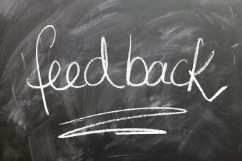 Omgaan met negatieve feedback