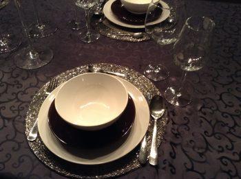 Eenvoudige feesttafels