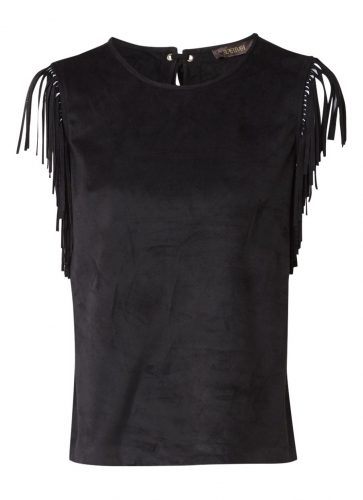 Zwarte top Supertrash