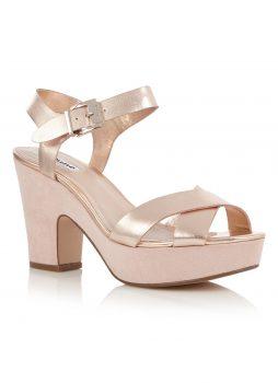 Plateauhak sandalettes