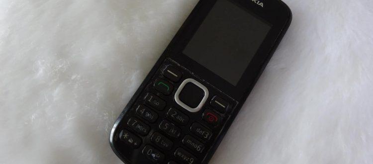 Nokia c1 Geen Smartphone