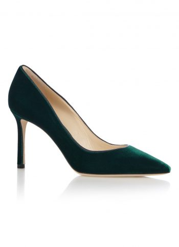 Fluwelen pumps Jimmy Choo