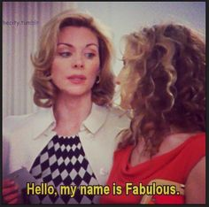 My name is fabulous