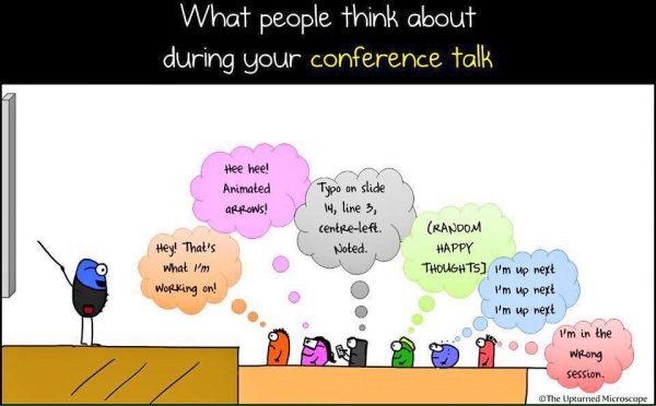 Voor publiek spreken