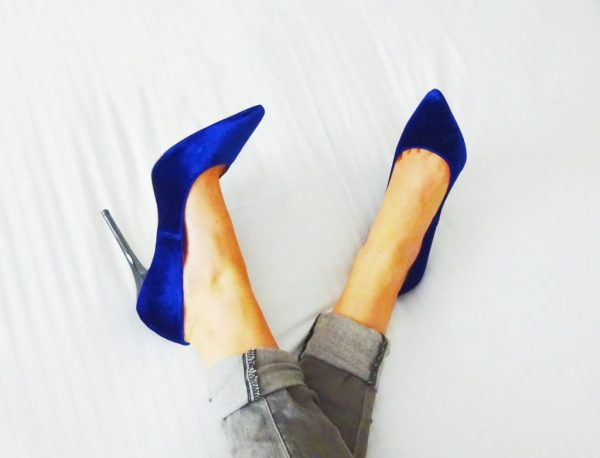 Felgekleurde Schoenen