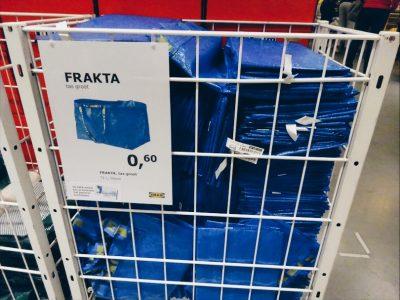 IKEA tips blauwe zak