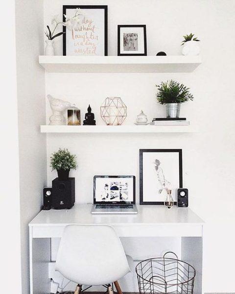 Work in Heels Trucs om je kleine werkkamer groter te doen lijken: 8x ...