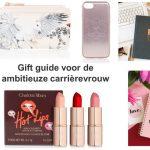 Gift guide ambitieuze carrièrevrouw