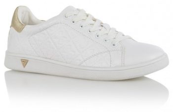 Witte sneaker Guess