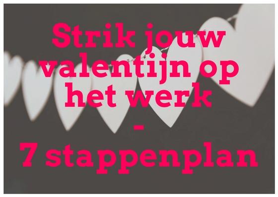 Strik jouw valentijn op het werk