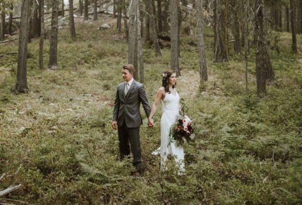Welk Huwelijkscontract Kiezen - Huwelijkskoppel in bos