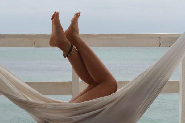 Blote voeten zomer