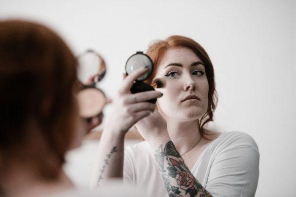 Make-up voor warme dagen met onweersbuien