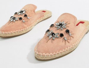 Espadrille muiltjes London Rebel