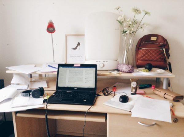 Work in heels geen pinterest perfect: zo ziet mijn bureau er