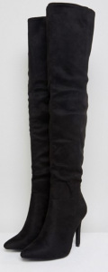 Zwarte over knee boot Truffle Collection