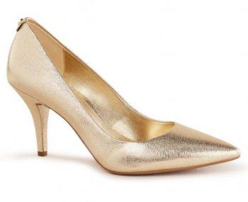 Gouden pumps Michael Kors