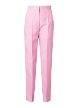 Roze pantalon Sandro