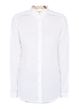 Witte blouse Burberry