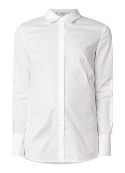 Witte blouse Mango