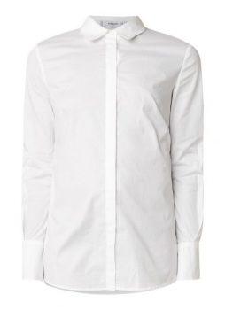 Witte blouse Mango