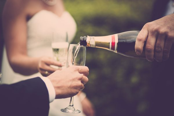 Drank op trouwfeest