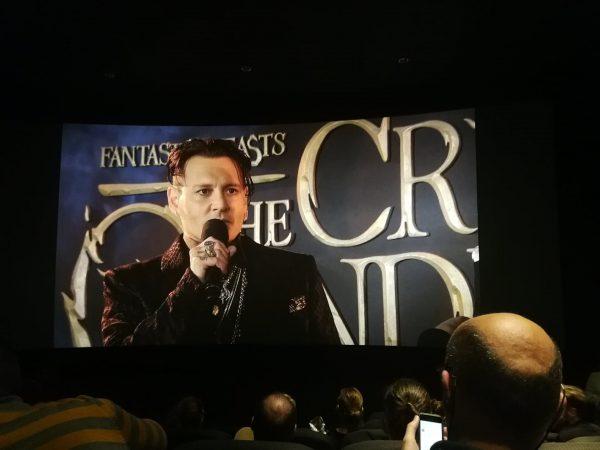 Johnny Depp als Grindelwald