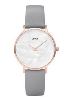 Rosegouden horloge Cluse