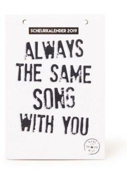 Scheurkalender make that the cat wise