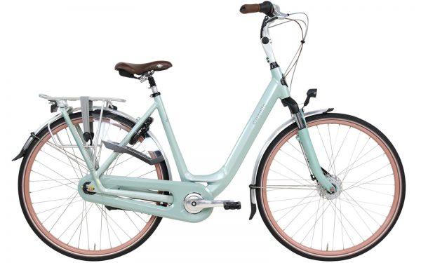 Muntgroene fiets