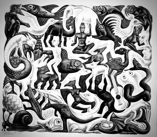 Orde in chaos Escher
