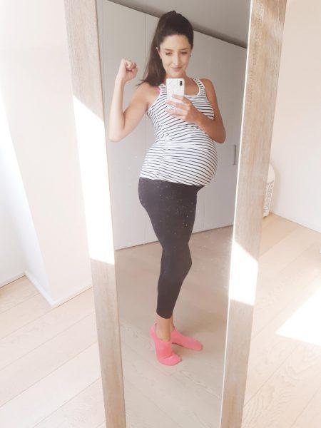 Zwangerschapsoutfit sportief 2