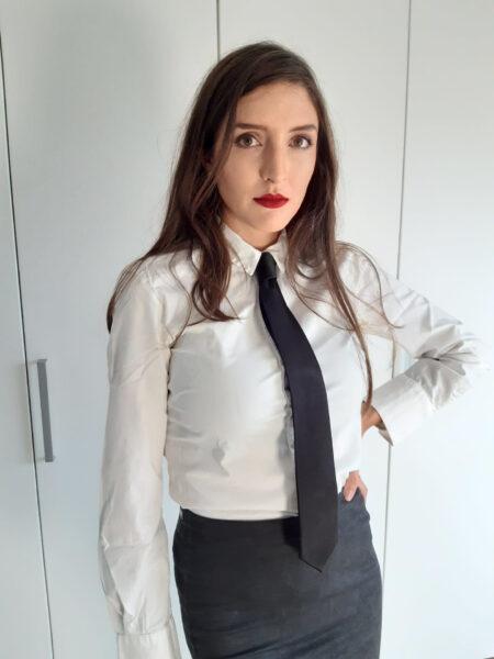Stropdas dames klassieke stijl