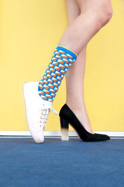 Sneakers of hakken
